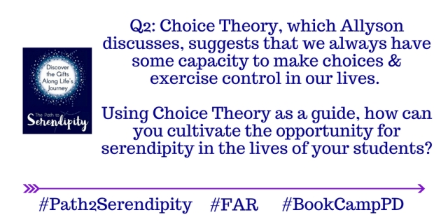 Q2 The Path to Serendipity Chat