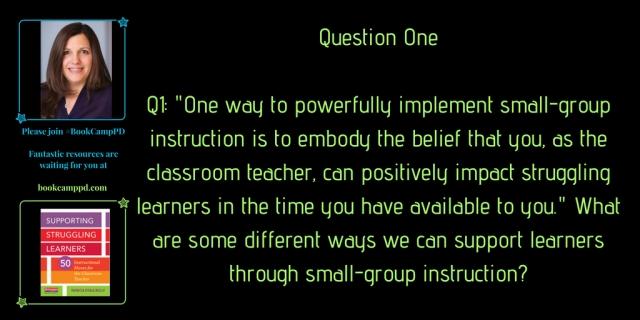Questions -Guest moderator Amanda Sopko June 23rd