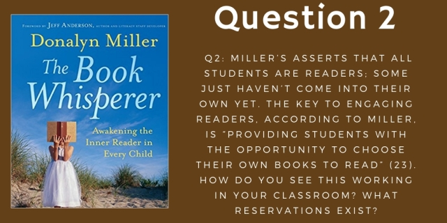 Copy of Question 2 The Book Whisperer October 14th