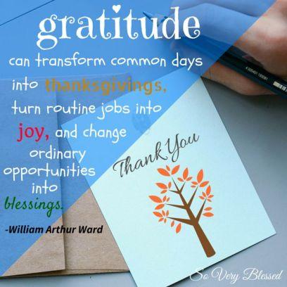 thank you gratitude