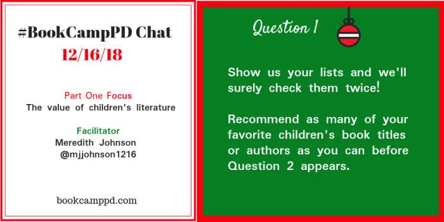 #BookCampPD December 16 Q1