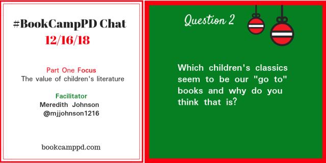 #BookCampPD December 16 Q2