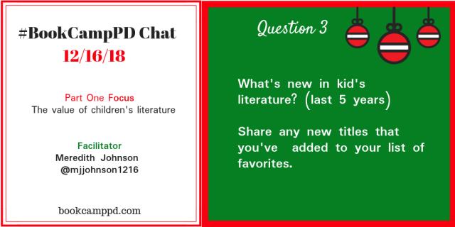 #BookCampPD December 16 Q3