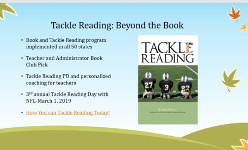 Tackle Learning info
